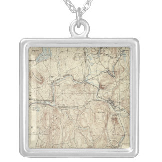 5 Palmer sheet Silver Plated Necklace