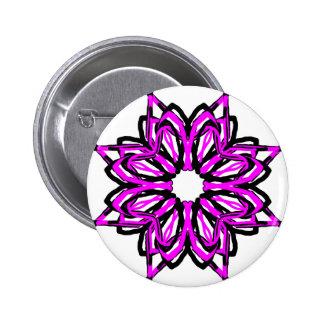 5 Pink Transparent Buttons