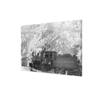 #5 Railroad Engine Colorado & Southern Canvas Prints
