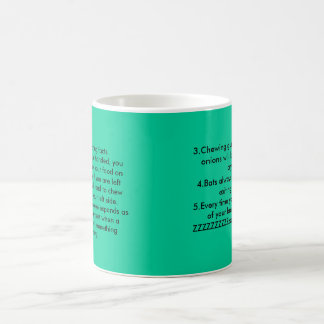 5 really boring facts1 If you are right handed Coffee Mug