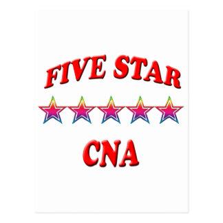 5 Star CNA Postcard