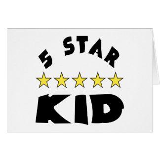 5 Star Kid Card