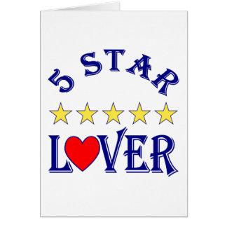 5 Star Lover (Blue) Card