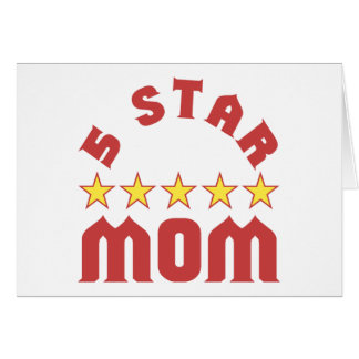 5 Star Mom Cards