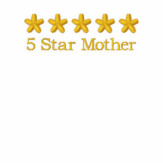 5 Star Mother Award T-Shirt - Mother's Day Gift