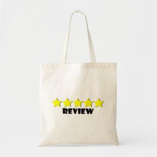 5 Star Review Bag