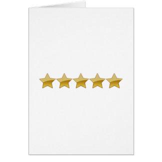 5 Stars Cards