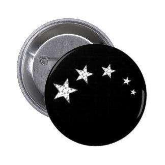 5 Superstars 6 Cm Round Badge