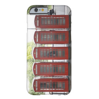 5 telephone boxes in London Barely There iPhone 6 Case