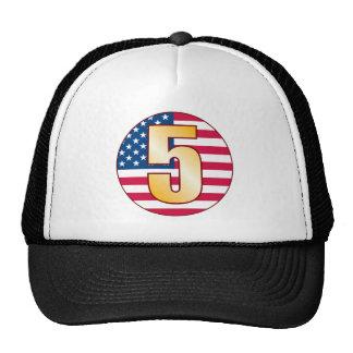 5 USA Gold Cap