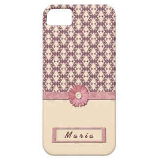 5 VINTAGE FLOWERS FOUNDS HOUSING CASE IPHONE iPhone 5 CASE