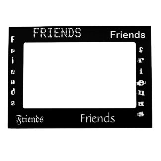 5 x 7 Friends picture frame Magnetic Photo Frame
