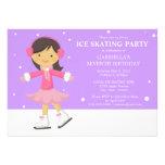 5 x 7 Ice Skating | Birthday Party Invite