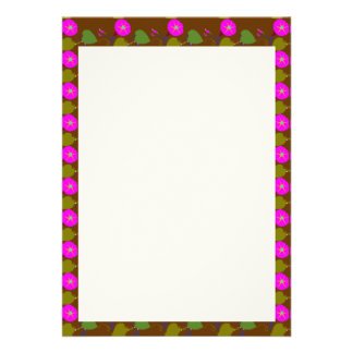 """5"""" x 7"""" Invitation Columned: LILLY LILY FLOWER"""