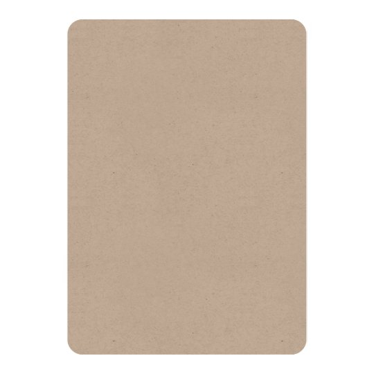 Kraft 12.7 cm x 17.8 cm, Standard white envelopes included