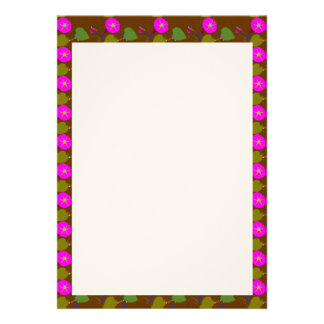"""5"""" x 7"""" Invitation Grooved: LILLY LILY FLOWER"""