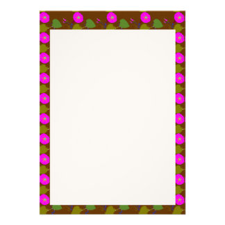 """5"""" x 7"""" Invitation LINEN PEARL: LILLY LILY FLOWER"""