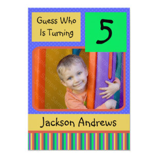 5 year old birthday invitations announcements zazzle 5 year old birthday party invitations boy filmwisefo