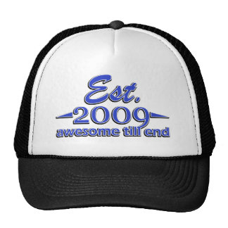 5 year old designs mesh hats