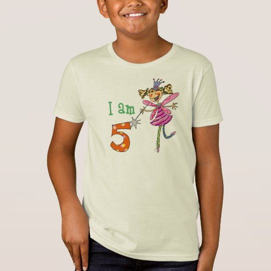 5 year old princess fairy T-Shirt