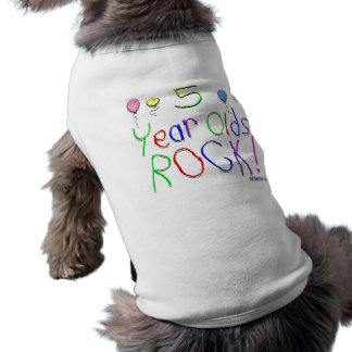 5 Year Olds Rock ! Shirt