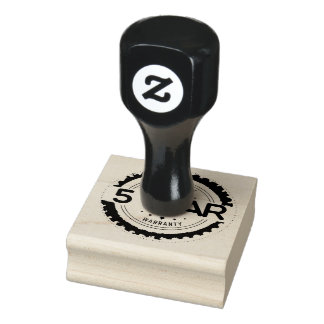 5 year warranty stamp