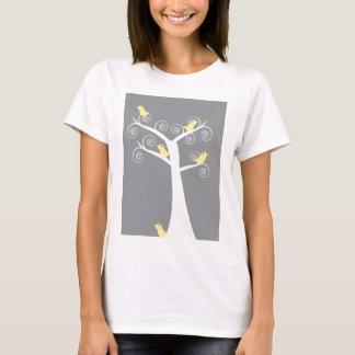 5 Yellow Birds in a Tree Shirt