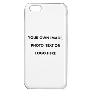5C Case UPLOAD, ADD, PUT OWN IMAGE PHOTO TEXT LOGO iPhone 5C Case