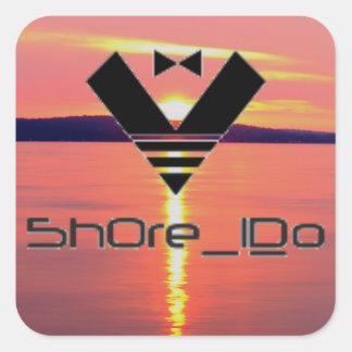 5hore_I_Do stings Square Sticker