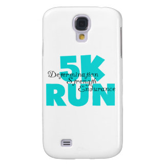 5K Run Aqua Sports Running Galaxy S4 Case
