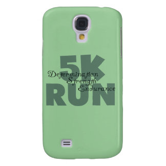 5K Run Green Sports Running Galaxy S4 Case