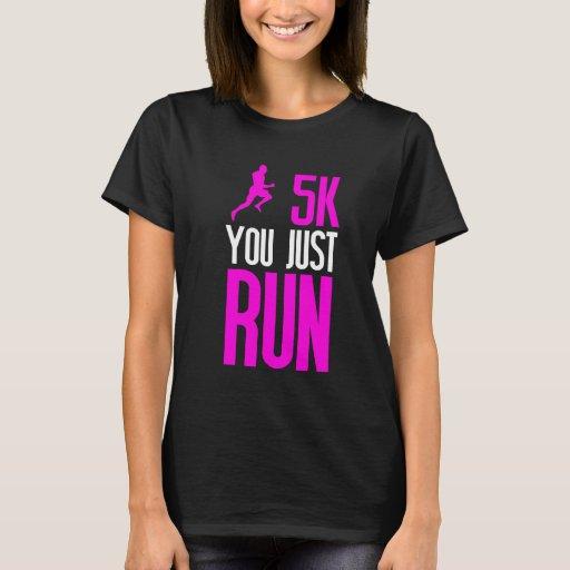 5K You Just Run Boy T-shirt