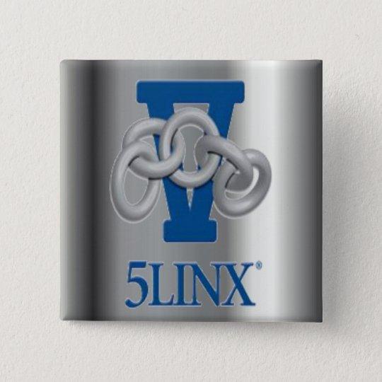 5LINX Silver Logo Pin