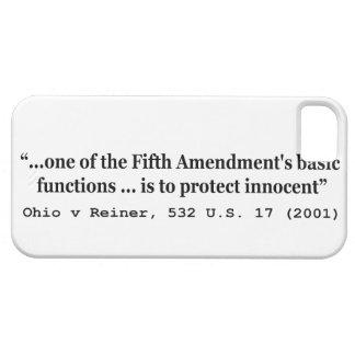 5th Amendment Ohio v Reiner 532 U.S. 17 (2001) iPhone 5 Covers