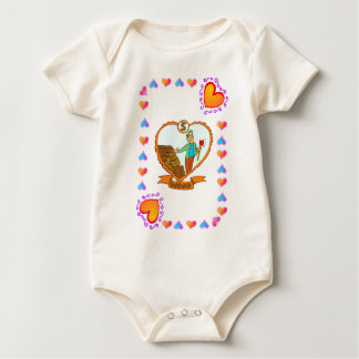 5th Anniversary Wood Baby Bodysuit