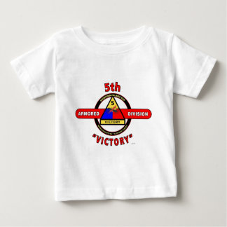 """5TH ARMORED DIVISION """"VICTORY"""" DIVISION T SHIRT"""