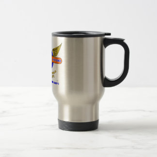 5TH ARMY AIR FORCE*ARMY AIR CORPS STAINLESS STEEL TRAVEL MUG