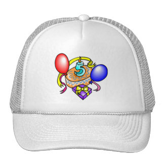 5th Birthday Celebration Gifts Cap
