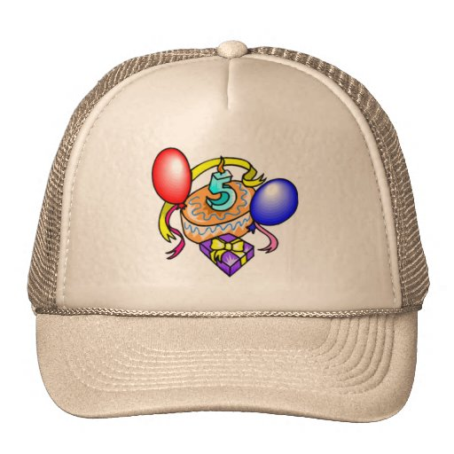 5th Birthday Celebration Gifts Hats