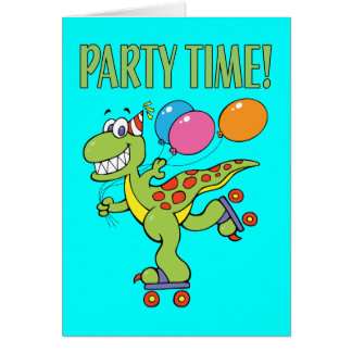 5th Birthday Dinosaur Cards