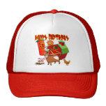 5th Birthday Farm Birthday Trucker Hats