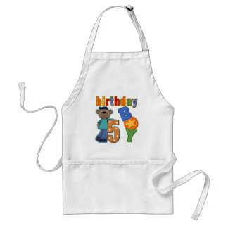 5th Birthday Gift Aprons