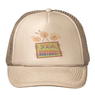 5th Birthday Gifts Cap
