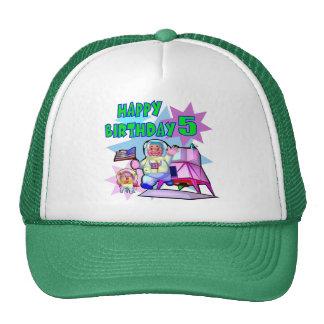 5th Birthday Space Birthday Cap