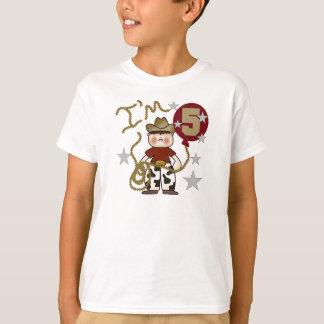 5th Cowboy Birthday T-Shirt