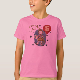 5th Cowgirl Birthday T-Shirt