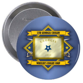 5th Georgia Cavalry (v5) 10 Cm Round Badge