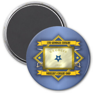 5th Georgia Cavalry (v5) Magnet