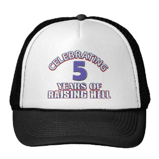 5th gift items mesh hat