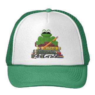 5th Grade Frog School Gift Cap